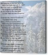 Snow Bells Canvas Print