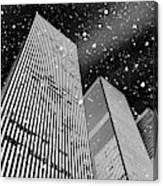 Snow Collection Set 03 Canvas Print