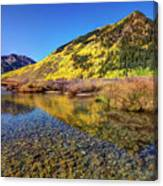 Snowmass Creek Canvas Print