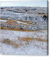 Snowy Slope County Territory Canvas Print