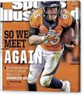 So We Meet Again Broncos - Patriots Is Much, Much More Than Sports Illustrated Cover Canvas Print