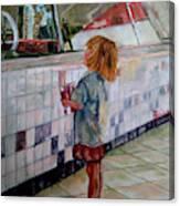 Soda Girl Canvas Print