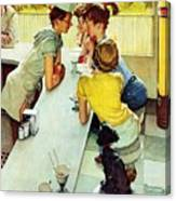 Soda Jerk Canvas Print