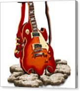 Soft Guitar - 3 Canvas Print