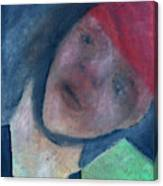 Soldier In Battle Canvas Print