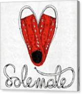 Sole Mate Canvas Print