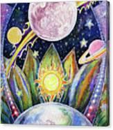Solstice Moon Canvas Print