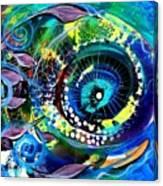 Sonata Toward Blue Canvas Print