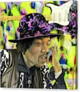 Sonic Exploration - A Jimi Hendrix Portrait Canvas Print