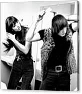 Sonny & Cher Portrait Session Canvas Print