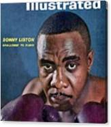 Sonny Liston, Heavyweight Boxing Sports Illustrated Cover Canvas Print