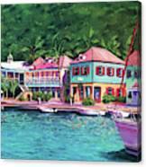 Soper's Hole Tortola  16x23 Canvas Print