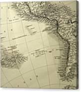 South America Canvas Print