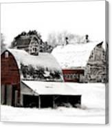 South Dakota Farm Canvas Print