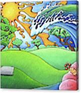 South Texas Disc Golf Canvas Print