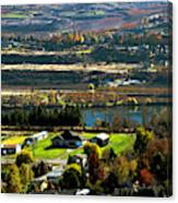 South Wenatchee Fall Canvas Print