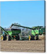 Soybean Harvest Max Canvas Print