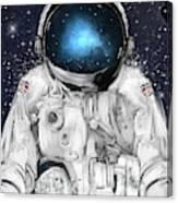 Space Adventurer  Canvas Print
