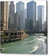 Spectacular Chicago Downtown Canvas Print