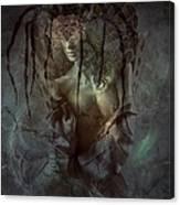 Spiderella Canvas Print