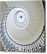 Spiral Staircase, The Queens House Canvas Print