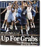 Sports Illustrateds Elite Eight Sports Illustrated Cover Canvas Print