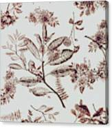 Spring Ink Canvas Print