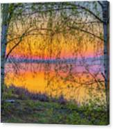 Spring Morning At 5.43 Canvas Print