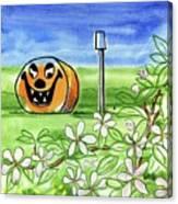 Spring-o-ween Canvas Print