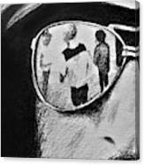 Springsteen Reflection Canvas Print