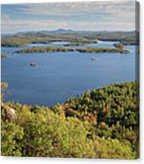 Squam Lake, New Hampshire Canvas Print