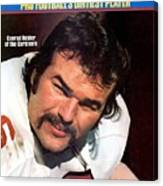 St. Louis Cardinals Conrad Dobler Sports Illustrated Cover Canvas Print