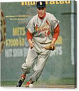 St. Louis Cardinals Ken Boyer... Sports Illustrated Cover Canvas Print
