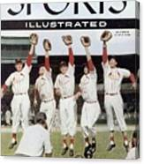 St. Louis Cardinals Sports Illustrated Cover Canvas Print