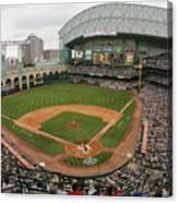 St. Louis Cardinals V Houston Astros Canvas Print