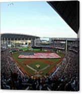 St Louis Cardinals V Miami Marlins Canvas Print