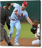 St Louis Cardinals  V Oakland Athletics Canvas Print
