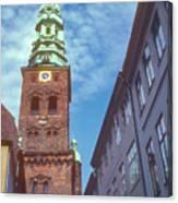 St. Nikolai Church Tower Canvas Print