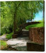 Stairway To Carlyle Canvas Print