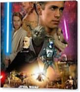 Star Wars Episode II Canvas Print
