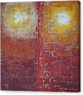 Staring Into The Suns Original Painting Canvas Print