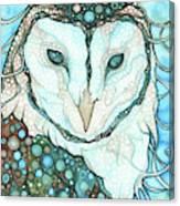 Starlit Owl Canvas Print