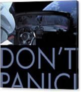 Starman Don't You Panic Now Canvas Print