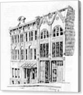 State Publishing And Parchen Building Helena Montana Canvas Print
