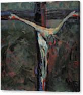 Station 12 Jesus Dies On The Cross Canvas Print
