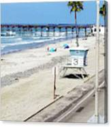 Station 3 Oceanside California 2  Canvas Print