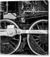 Steam Locomotive Detail Canvas Print