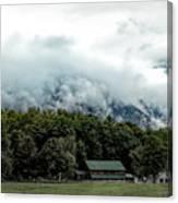 Steaming White Mountains Canvas Print