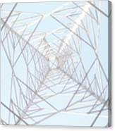 Steel Tower Canvas Print