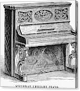 Steinway Piano, 1878 Canvas Print